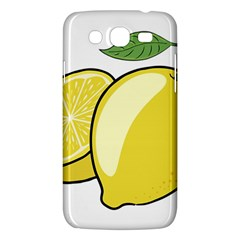 Lemon Fruit Green Yellow Citrus Samsung Galaxy Mega 5 8 I9152 Hardshell Case  by BangZart