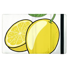 Lemon Fruit Green Yellow Citrus Apple Ipad Pro 12 9   Flip Case