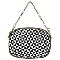 Triangle Pattern Simple Triangular Chain Purses (two Sides)  by BangZart