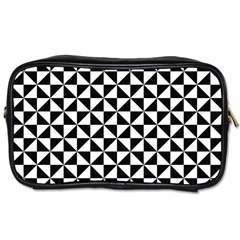 Triangle Pattern Simple Triangular Toiletries Bags 2-side by BangZart