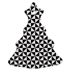Triangle Pattern Simple Triangular Ornament (christmas Tree)