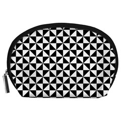Triangle Pattern Simple Triangular Accessory Pouches (large)