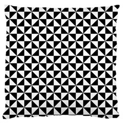 Triangle Pattern Simple Triangular Standard Flano Cushion Case (two Sides)