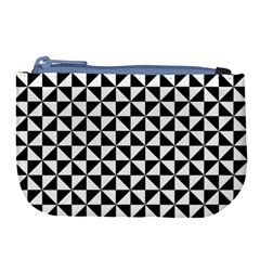 Triangle Pattern Simple Triangular Large Coin Purse by BangZart