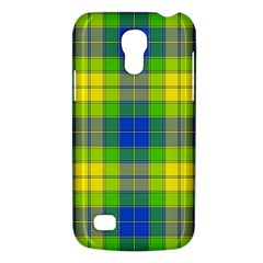 Spring Plaid Yellow Blue And Green Galaxy S4 Mini