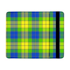 Spring Plaid Yellow Blue And Green Samsung Galaxy Tab Pro 8 4  Flip Case