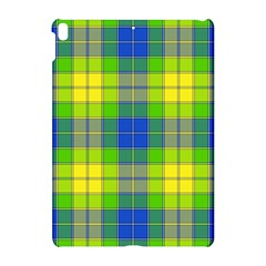 Spring Plaid Yellow Blue And Green Apple Ipad Pro 10 5   Hardshell Case