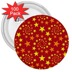 Star Stars Pattern Design 3  Buttons (100 Pack)  by BangZart