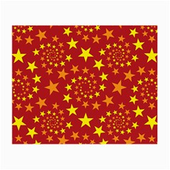 Star Stars Pattern Design Small Glasses Cloth