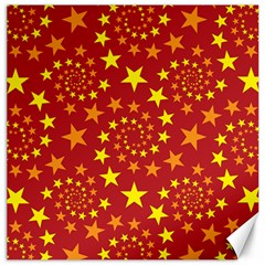 Star Stars Pattern Design Canvas 16  X 16   by BangZart