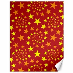 Star Stars Pattern Design Canvas 36  X 48   by BangZart