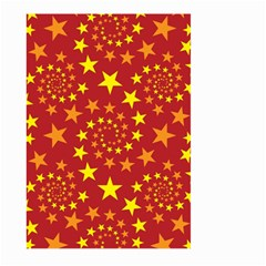 Star Stars Pattern Design Large Garden Flag (two Sides)
