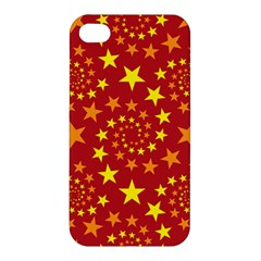 Star Stars Pattern Design Apple Iphone 4/4s Premium Hardshell Case by BangZart