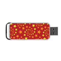 Star Stars Pattern Design Portable Usb Flash (two Sides) by BangZart