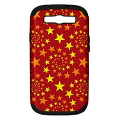 Star Stars Pattern Design Samsung Galaxy S Iii Hardshell Case (pc+silicone)