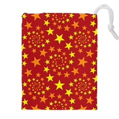 Star Stars Pattern Design Drawstring Pouches (xxl)