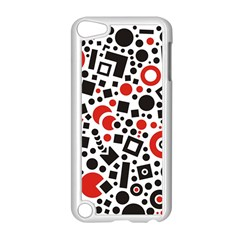 Square Objects Future Modern Apple Ipod Touch 5 Case (white)