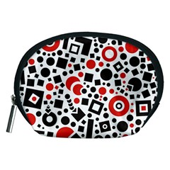 Square Objects Future Modern Accessory Pouches (medium)  by BangZart