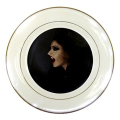 Vampire Woman Vampire Lady Porcelain Plates