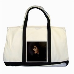 Vampire Woman Vampire Lady Two Tone Tote Bag