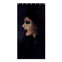 Vampire Woman Vampire Lady Shower Curtain 36  X 72  (stall)  by BangZart