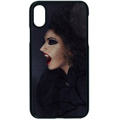 Vampire Woman Vampire Lady Apple Iphone X Seamless Case (black)