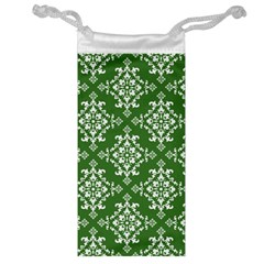 St Patrick S Day Damask Vintage Jewelry Bag