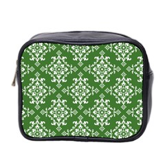 St Patrick S Day Damask Vintage Mini Toiletries Bag 2 Side