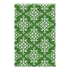 St Patrick S Day Damask Vintage Shower Curtain 48  X 72  (small)  by BangZart
