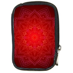 Mandala Ornament Floral Pattern Compact Camera Cases