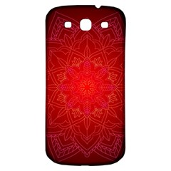 Mandala Ornament Floral Pattern Samsung Galaxy S3 S Iii Classic Hardshell Back Case by BangZart