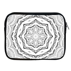 Mandala Pattern Floral Apple Ipad 2/3/4 Zipper Cases