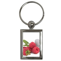 Fruit Healthy Vitamin Vegan Key Chains (Rectangle)