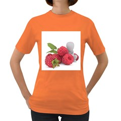 Fruit Healthy Vitamin Vegan Women s Dark T Shirt by BangZart