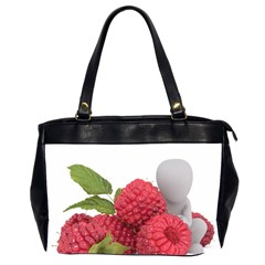 Fruit Healthy Vitamin Vegan Office Handbags (2 Sides)  by BangZart
