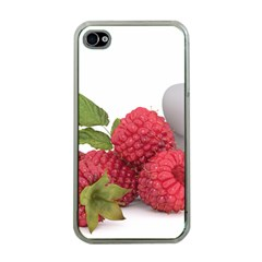 Fruit Healthy Vitamin Vegan Apple iPhone 4 Case (Clear)