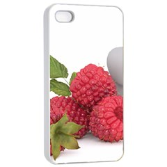 Fruit Healthy Vitamin Vegan Apple iPhone 4/4s Seamless Case (White)