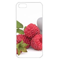 Fruit Healthy Vitamin Vegan Apple iPhone 5 Seamless Case (White)