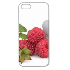Fruit Healthy Vitamin Vegan Apple Seamless iPhone 5 Case (Clear)