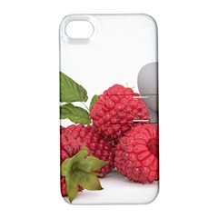 Fruit Healthy Vitamin Vegan Apple iPhone 4/4S Hardshell Case with Stand