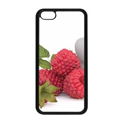 Fruit Healthy Vitamin Vegan Apple Iphone 5c Seamless Case (black) by BangZart