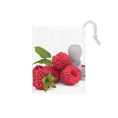 Fruit Healthy Vitamin Vegan Drawstring Pouches (Small)