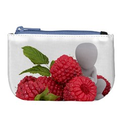 Fruit Healthy Vitamin Vegan Large Coin Purse