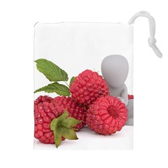 Fruit Healthy Vitamin Vegan Drawstring Pouches (Extra Large)