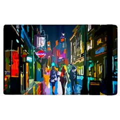 Abstract Vibrant Colour Cityscape Apple Ipad 2 Flip Case by BangZart