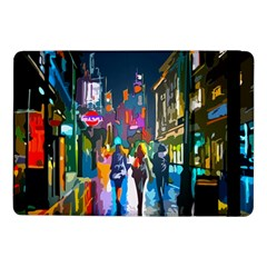 Abstract Vibrant Colour Cityscape Samsung Galaxy Tab Pro 10 1  Flip Case