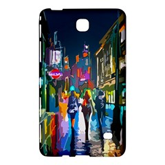 Abstract Vibrant Colour Cityscape Samsung Galaxy Tab 4 (8 ) Hardshell Case