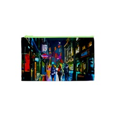 Abstract Vibrant Colour Cityscape Cosmetic Bag (xs) by BangZart