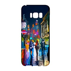 Abstract Vibrant Colour Cityscape Samsung Galaxy S8 Hardshell Case
