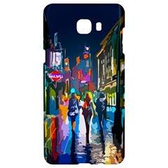 Abstract Vibrant Colour Cityscape Samsung C9 Pro Hardshell Case